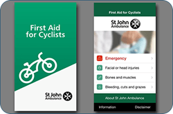 First Aid app for Cyclists