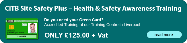 CITB Site Safety Plus - Health & Safety Awareness - 1 day course Liverpool