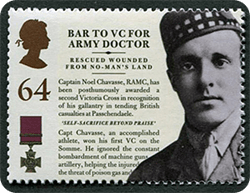 Captain Noel Chavasse was an army doctor from Liverpool