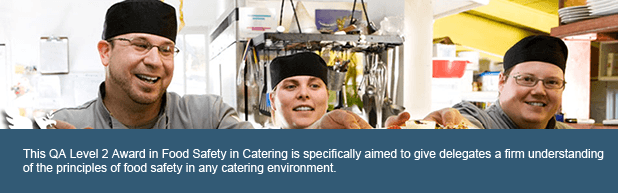 Food Safety in Catering QA Level 2 Award