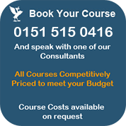 Book your Health and Safety Course - all courses competitively priced