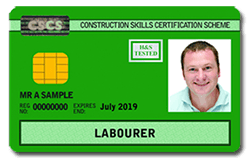 Applying for your CSCS Labourers Card