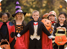 Fire Risk Concerns with children's Halloween costumes