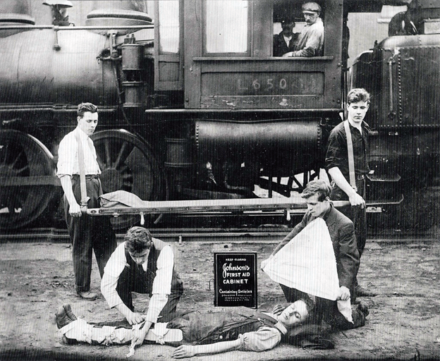 First Aid Kit first introduced on the Railways